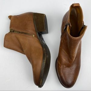 Lucky Brand Leather Ankle Booties